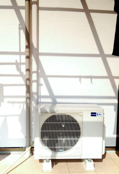 室外機 室外化粧カバーあり:三菱 MSZ-ZXV712S