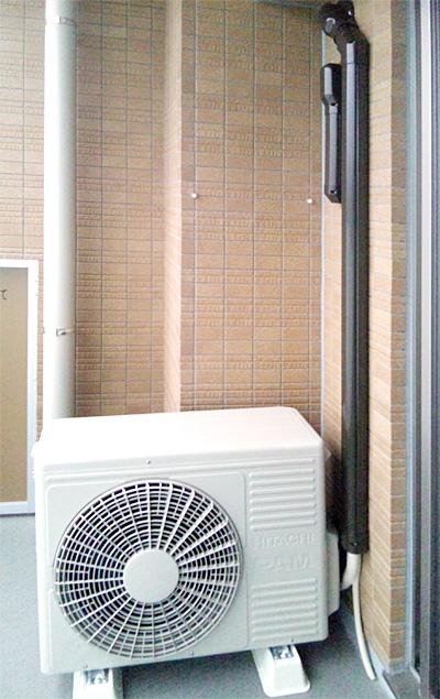 室外機 室外化粧カバーあり:日立 RAS-S40B2