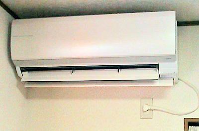 室内機 入替え後の新品エアコン:富士通 AS-Z71B2