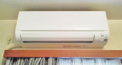 室内機 入替え後の新品エアコン:三菱 MSZ-GM222-W