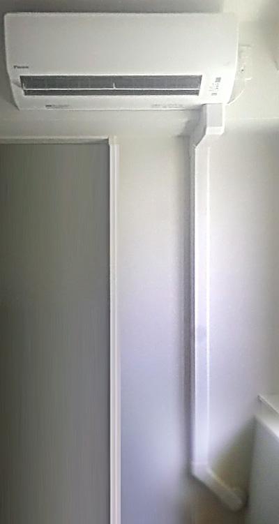 室内機 室内化粧カバーあり:ダイキン S36NTAXS