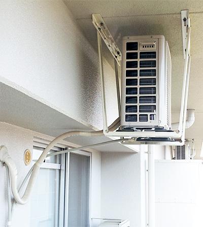 室外機 天井吊り:シャープ AY-B40EX-w