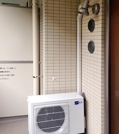 室外機 ベランダ置き 室外化粧カバーあり:三菱 MSZ-ZW563S
