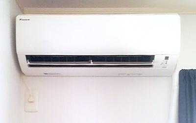 室内機 配管穴の穴あけ工事あり:ダイキン AN40PRP-W