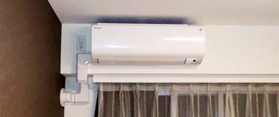 室内機 室内化粧カバーあり:ダイキン S22PTFXS-W×2台 1台目