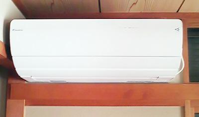 室内機:ダイキン AN40PRP 1台目 和室に設置