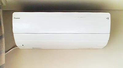 室内機:ダイキン AN40PRP 2台目 洋室に設置