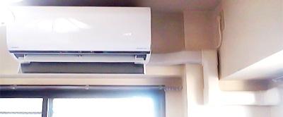 室内機 室内化粧カバーあり:日立 RAS-S22C