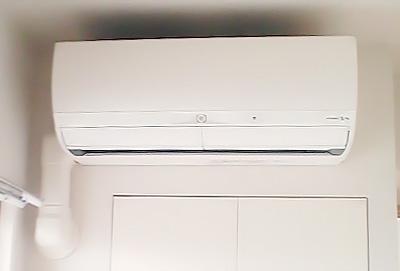 室内機 室内化粧カバーあり:三菱 MSZ-ZW223 3台目