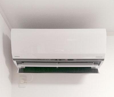 室内機 配管穴の穴あけ工事あり:日立 RAS-S63C