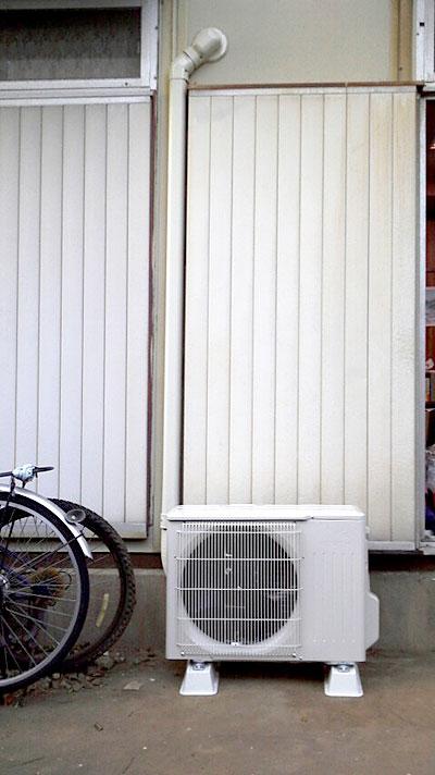 室外機 大地置き 室外化粧カバーあり:三菱 MSZ-GM283