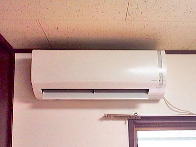 室内機 入替え後の新品エアコン:コロナ CSH-N2213
