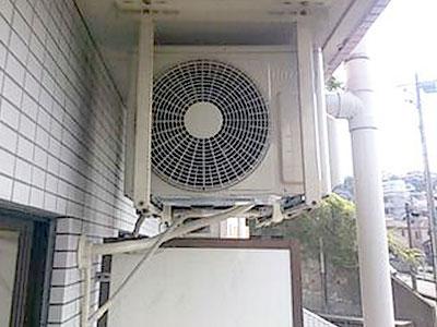 室外機 天井吊り(既存金具を使用):日立 RAS-AJ22C