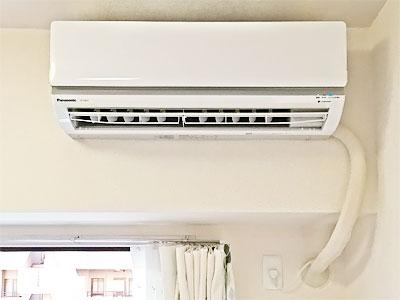 室内機 保証付き新品配管に交換:パナソニック CS-J281C