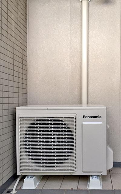 室外機 ベランダ置き 室外化粧カバーあり:パナソニック CS-564CXR2