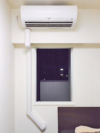 室内機 室内化粧カバーあり:三菱電機 霧ヶ峰 MSZ-W224