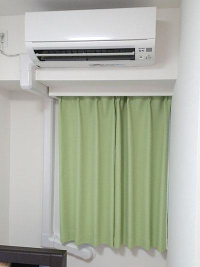 室内機 室内化粧カバーあり:霧ヶ峰 MSZ-W224
