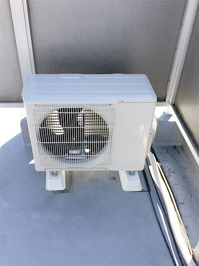 室内機 屋上置き(階下より配管立ち上げ):三菱電機 霧ヶ峰 MSZ-GV224