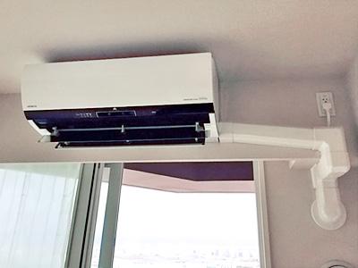 室内機 室内化粧カバーあり:日立 ステンレス・クリーンエアコン 白くまくん RAS-Z56D2