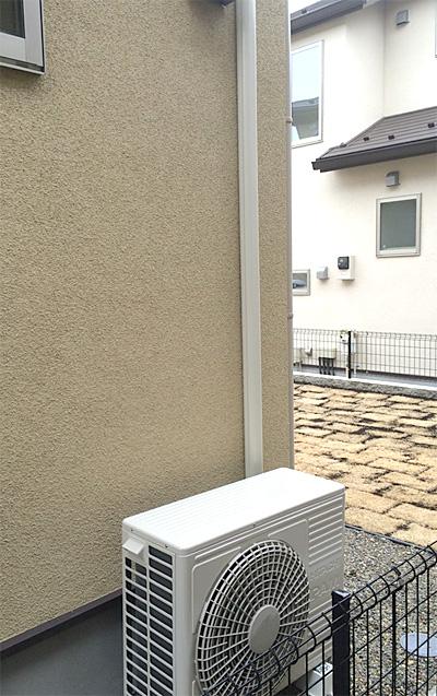 室外機 大地置き 室外化粧カバーあり:日立 ステンレス・クリーン 白くまくん RAS-Z71D2