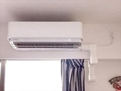 室内機 室内化粧カバーあり:東芝 RAS-406SDR