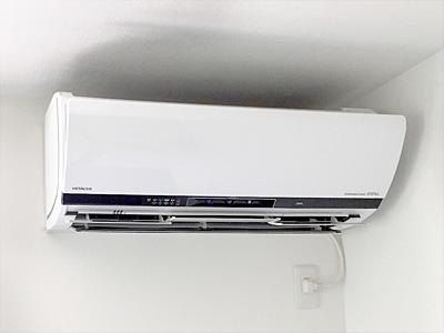 室内機:日立 ステンレス・クリーン 白くまくん RAS-X40E2