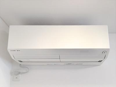 室内機:三菱電機 霧ヶ峰 MSZ-ZW405S-W