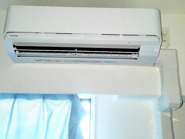 室内機 室内化粧カバーあり:東芝 大清快 RAS-E225R