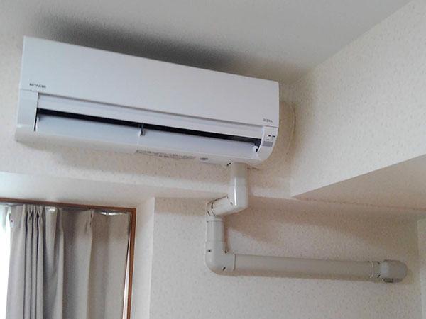 室内機 室内化粧カバーあり:日立 白くまくん RAS-AJ40G2