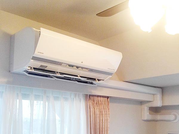 室内機 室内化粧カバーあり:日立 ステンレス・クリーン 白くまくん RAS-X56G2
