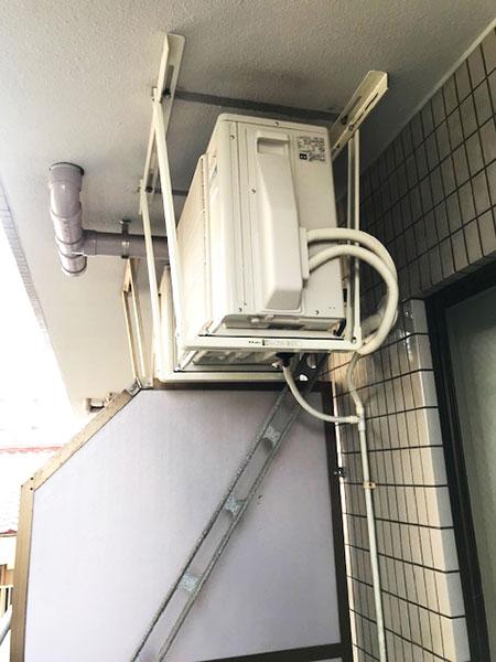 室外機 天吊り:富士通ゼネラル ノクリア AS-C22H