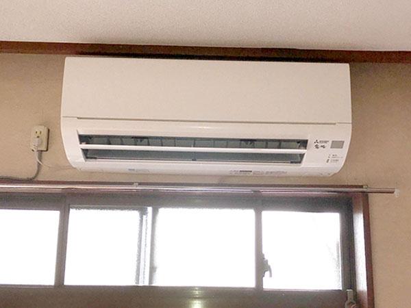 室内機:三菱 霧ヶ峰 MSZ-GV2518-W