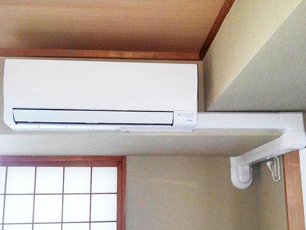 室内機 室内化粧カバーあり:富士通ゼネラル ノクリア AS-C22J