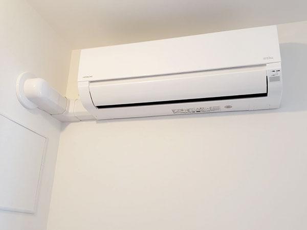 室内機 室内化粧カバーあり:日立 ステンレス・クリーン 白くまくん RAS-D22J