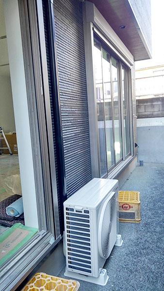 室外機 大地置き 室外化粧カバーあり:東芝 RAS-2210TS