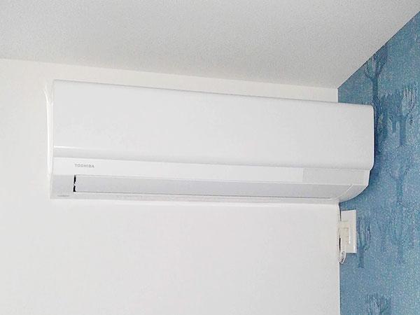 室内機 室内化粧カバーあり:東芝 大清快 RAS-G221P