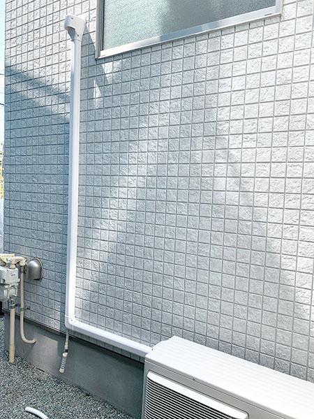 室外機 大地置き 室外化粧カバーあり:パナソニック エオリア CS-220DEX