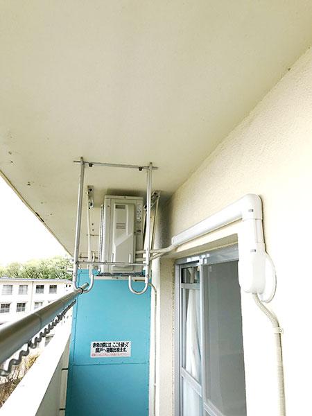室外機 天吊り 室外化粧カバーあり:ダイキン S36YTAXS