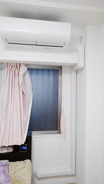 室内機 室内化粧カバーあり:三菱 霧ヶ峰 MSZ-R2220